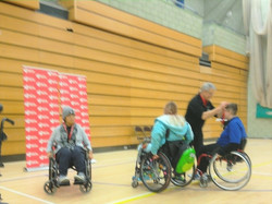 Heathcoat Cup Crawley Layla receives Gold Medal
