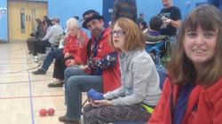 Saegulls playing at Pan Disability Comp Sidcup Nov'17