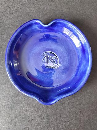 Cobalt Blue Heart Dish