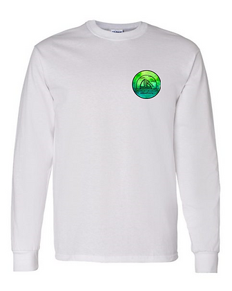 Green Water Color Long Sleeve