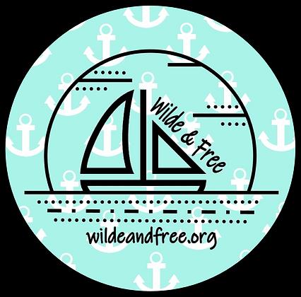 "Anchors 5"" Sticker"