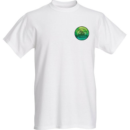 Green Water Color T-Shirt