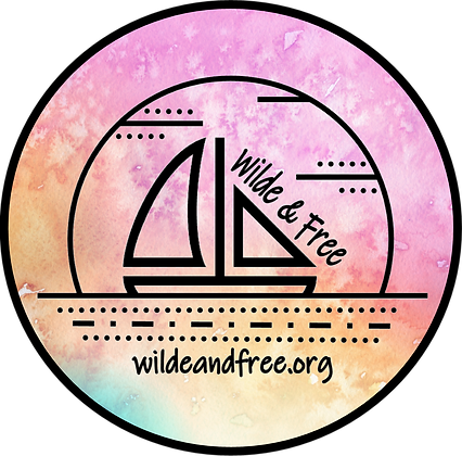 """Pastel Water Color 5"""" Sticker"""