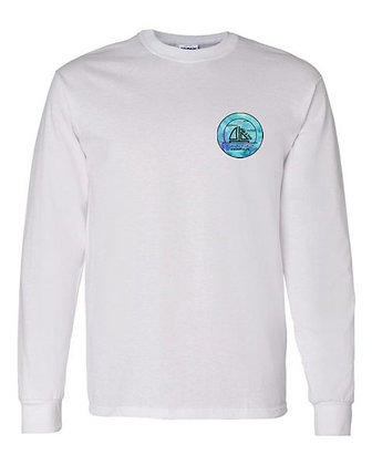 Blue Water Color Long Sleeve