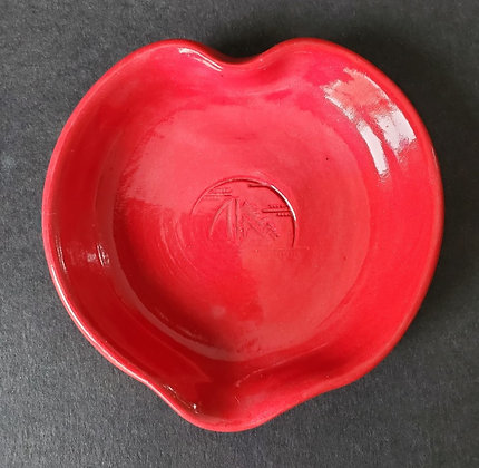 True Red Heart Dish