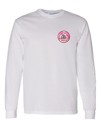 Pink Water Color Long Sleeve Shirt