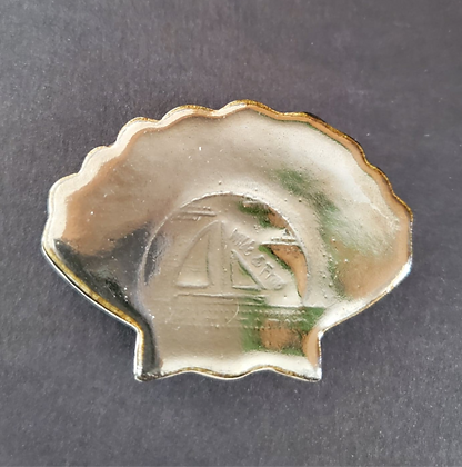 Palladium Seashell Magnet