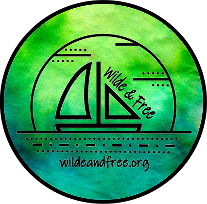 """Green Water Color 5"""" Sticker"""