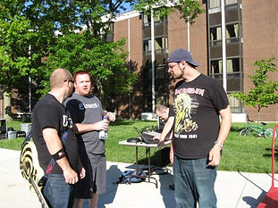 the very beginning of eyeshot at our first show. Wright State University