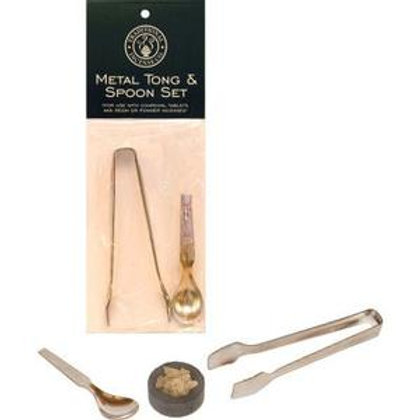 Tong & Spoon Incense Set