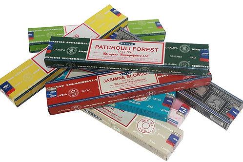 Satya Box Incenses (Variety)
