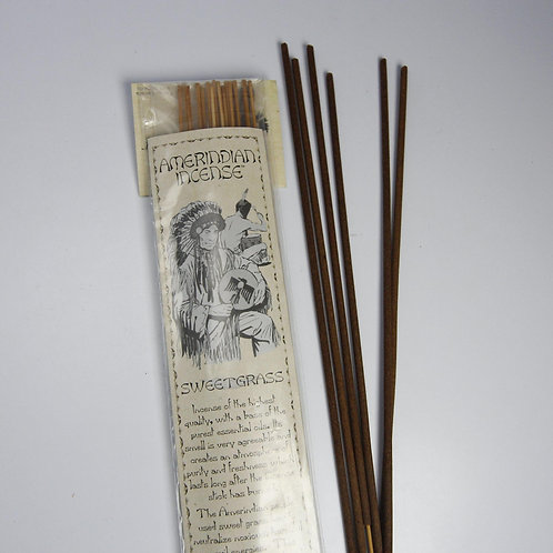Jabou Amerindian Sweetgrass Incense