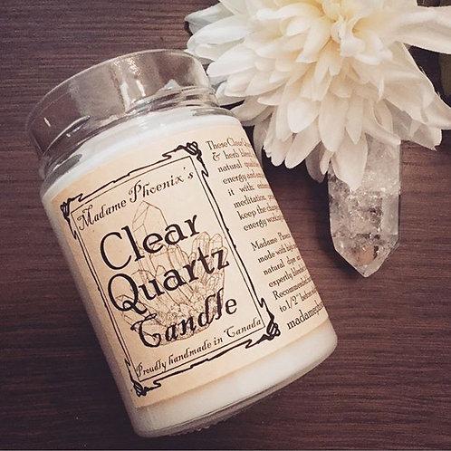 Madame Phoenix Clear Quartz Candle