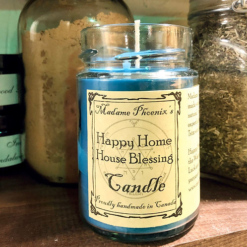 Madame Phoenix Magic House Blessing Candle
