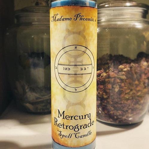 Madame Phoenix Mercury Retrograde Candle