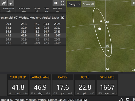 Testing the short game- what do we need to control?