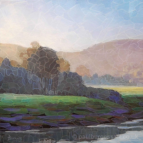 "Tintern River Bank 9"" x 9"""