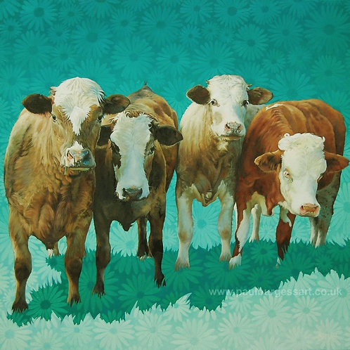 "Never Mind The Bullocks 9"" x 9"""