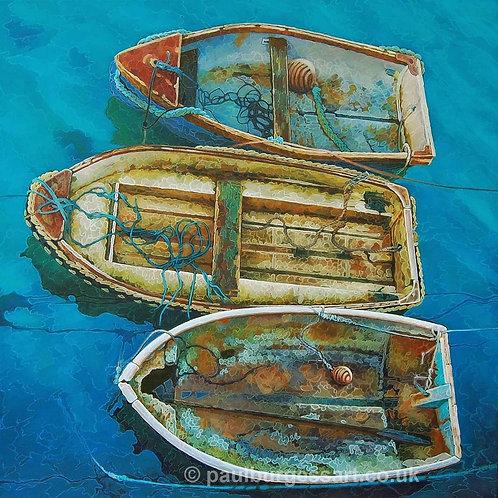 """Old Ropes & Tatty Boats 9"""" x 9"""""""