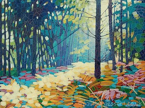 """Forest Dawn 15 - 9"""" x 11.5"""""""