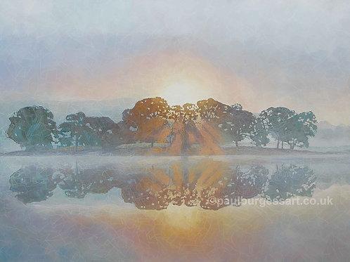 Mist On Esthwaite Water