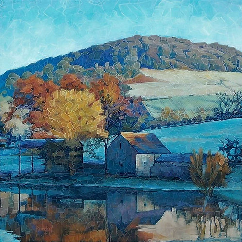 River Barn Artist`s Proof