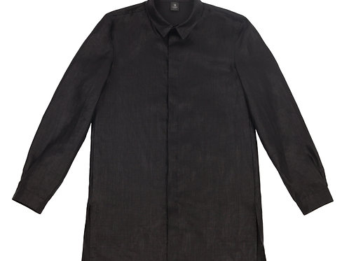 Рубашка из лощеного льна