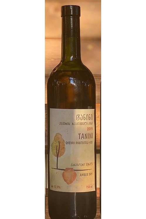 Rkatsiteli Kisi, Tanini , Dry amber wine