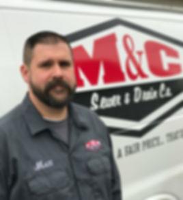 M&C Sewer and Drain Co., plumber, plumbing van, lima ohio,