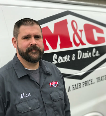 M&C Sewer and Drain Co., plumber, plumbing van, lima ohio,