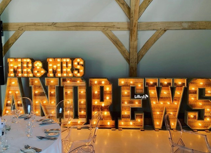 Rustic Mini MR&MRS + Surname