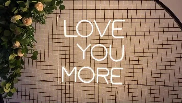 Love You More NEON