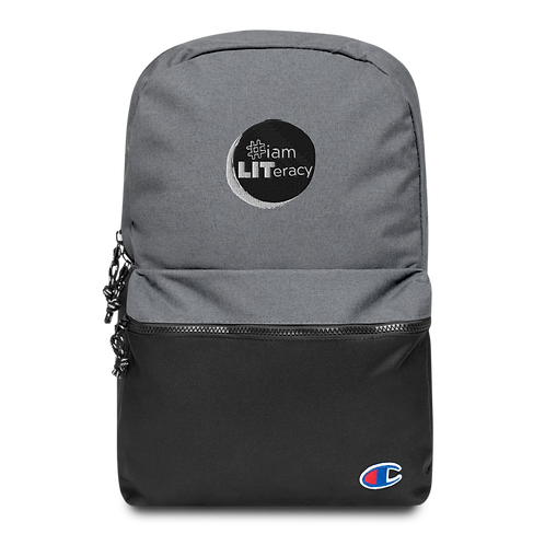 #iamLITeracy Champion Backpack