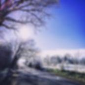 Frost in Tasmania