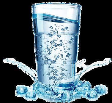 Glass of Kangen water