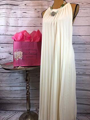 Flowy Ivory Dress