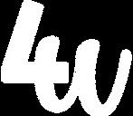 4U_logo-Scritta Bianca.png