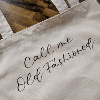 Call Me Old Fashioned Bourbon Bag