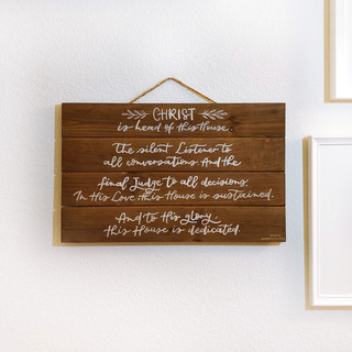 Wood Signage for Home Decor