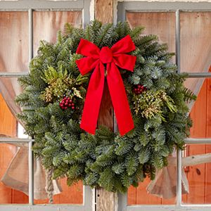 "28"" Mixed Evergreen Wreath"