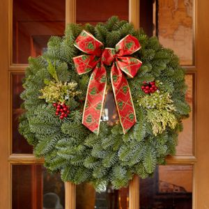 "22"" Mixed Evergreen Wreath"