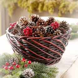 Cone Gift Basket
