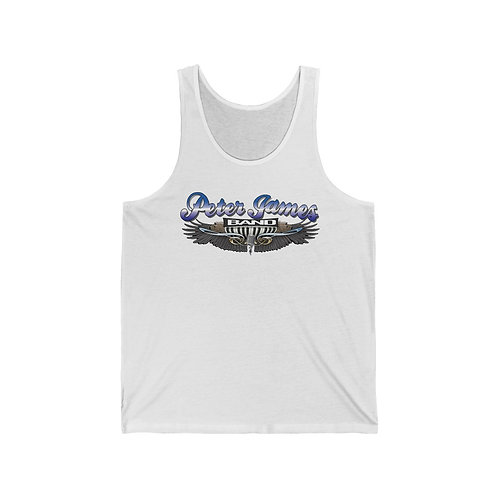 Peter James Band /Piano Party With Peter James Unisex Jersey Tank