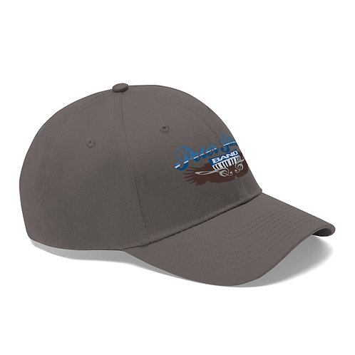 Peter James Band Grey Clef Unisex Twill Hat