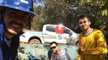 Eletroeste e IAC/ITF instala os primeiros medidores de vazão no projeto do Rio Formoso