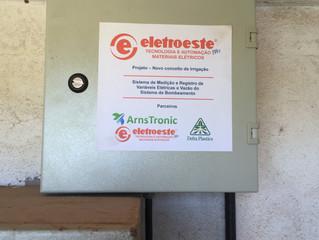 Projeto em parceria: Eletroeste, Delta Plastics, Arnstronic e IRGA