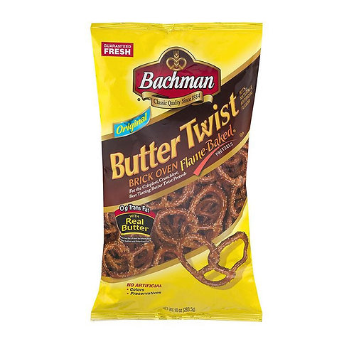 10oz Bachman Butter Twist Pretzels