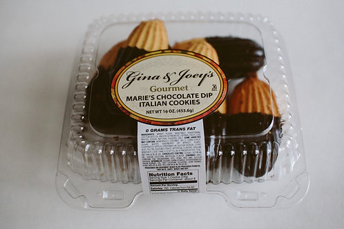 Marie's Chocolate Dipped Cookies (1LB)