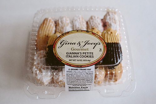Gianna's Petite Italian Cookies (1LB)