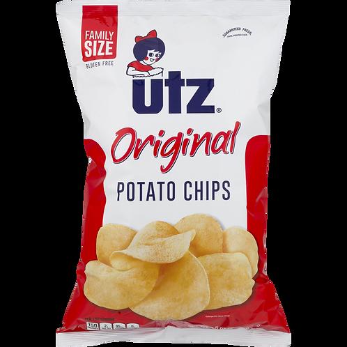 7oz Utz Plain Potato Chips